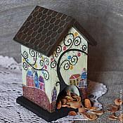 """Для дома и интерьера ручной работы. Ярмарка Мастеров - ручная работа Чайный домик """" Сказочный город"""". Handmade."""