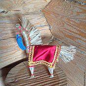 Куклы и игрушки ручной работы. Ярмарка Мастеров - ручная работа Солнечный конь. Handmade.