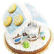 Подарки к праздникам ручной работы. Ярмарка Мастеров - ручная работа Пряничный домик с логотипом. Handmade.