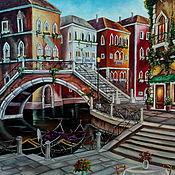 Картины и панно handmade. Livemaster - original item Italy. Venice. Oil painting 50/70. Handmade.