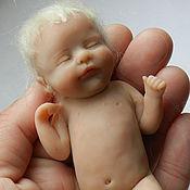Куклы и игрушки ручной работы. Ярмарка Мастеров - ручная работа Кукла-малыш из полимерной глины. Handmade.