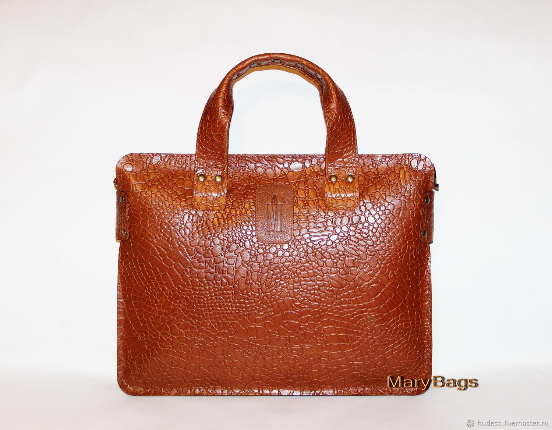 2ca83d46f237 Женские сумки ручной работы. Ярмарка Мастеров - ручная работа. Купить  Деловая кожаная сумка, ...