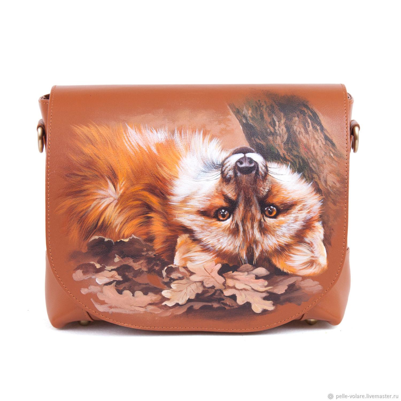 Ladies handbag' Fox rest', Classic Bag, St. Petersburg,  Фото №1