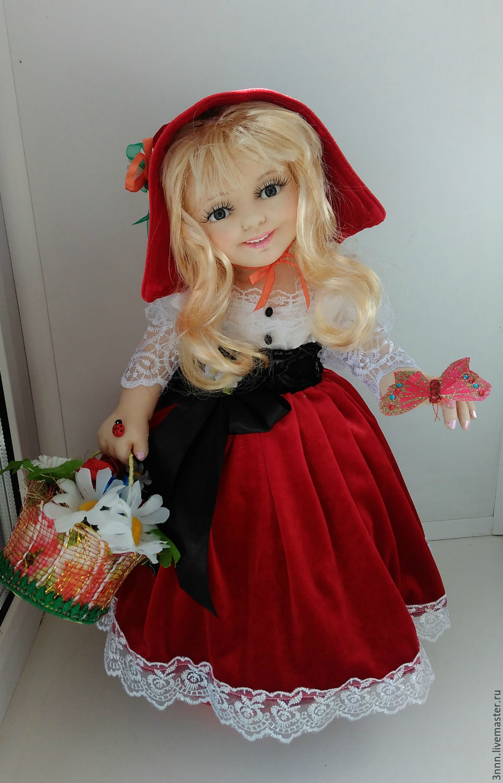 шапочку сделать своими руками куклу красную