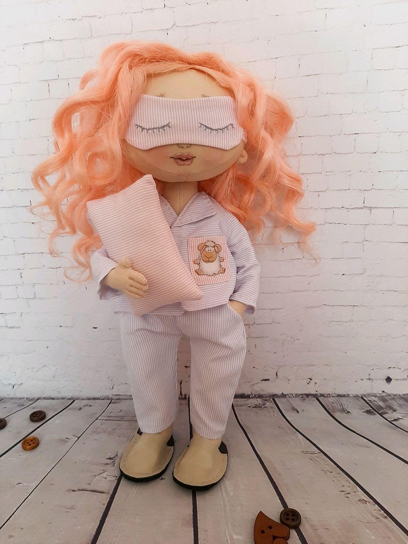 Кукла в пижаме Милана, Портретная кукла, Ростов-на-Дону,  Фото №1