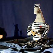Куклы и игрушки ручной работы. Ярмарка Мастеров - ручная работа Морской медведь. Handmade.