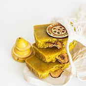 Косметика ручной работы handmade. Livemaster - original item Handmade soap Pear Liqueur natural Autumn Yellow. Handmade.