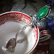 Посуда handmade. Livemaster - original item Silver spoon