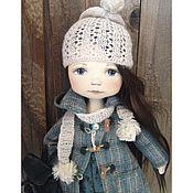 Куклы и игрушки ручной работы. Ярмарка Мастеров - ручная работа Кукла с рюкзачком. Handmade.