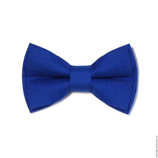 Галстуки, бабочки ручной работы. Ярмарка Мастеров - ручная работа. Купить Галстук-бабочка ярко-синий / Галстук бабочка / Бабочка синяя. Handmade.
