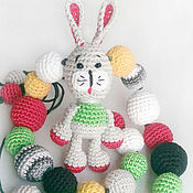 Одежда ручной работы. Ярмарка Мастеров - ручная работа Слингобусы с игрушкой Зайчик. Handmade.