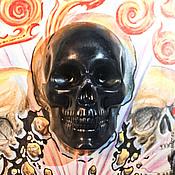"""Косметика ручной работы. Ярмарка Мастеров - ручная работа Тату-мыло """"Череп"""". Handmade."""