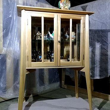Мебель ручной работы. Ярмарка Мастеров - ручная работа Буфет из ясеня на высоких ножках. Handmade.