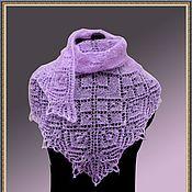 Аксессуары handmade. Livemaster - original item Mini shawl spokes