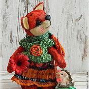 Куклы и игрушки ручной работы. Ярмарка Мастеров - ручная работа Лисичка Марисоль. Handmade.