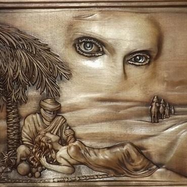 Картины и панно ручной работы. Ярмарка Мастеров - ручная работа Резное дерево_Мираж. Handmade.