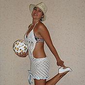"""Одежда ручной работы. Ярмарка Мастеров - ручная работа Платье """"Королева  пляжа"""". Handmade."""