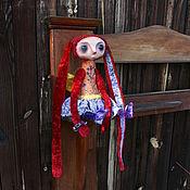 Куклы и игрушки ручной работы. Ярмарка Мастеров - ручная работа Бордово-фиолетовое.... Handmade.