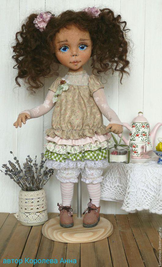 Коллекционные куклы ручной работы. Ярмарка Мастеров - ручная работа. Купить Текстильная кукла Baby doll Лиза Именинница.. Handmade.
