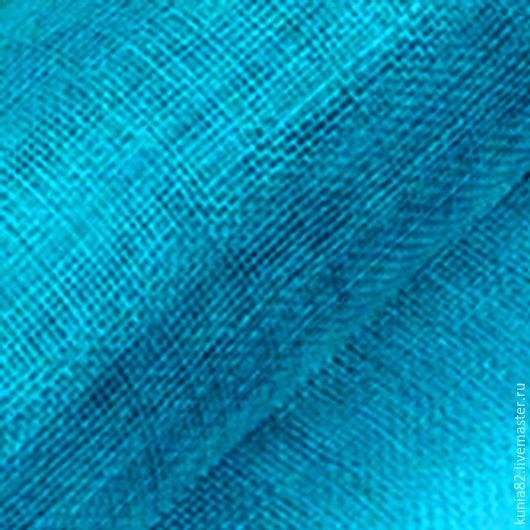 Синамей  для изготовления шляп цвет АКВА полуфабрикат для изготовления шляп и головных уборов. Анна Андриенко. Ярмарка Мастеров.