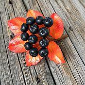 Украшения handmade. Livemaster - original item Autumn brooch