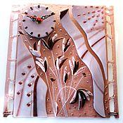 """Для дома и интерьера ручной работы. Ярмарка Мастеров - ручная работа Часы Камыши"""". Handmade."""