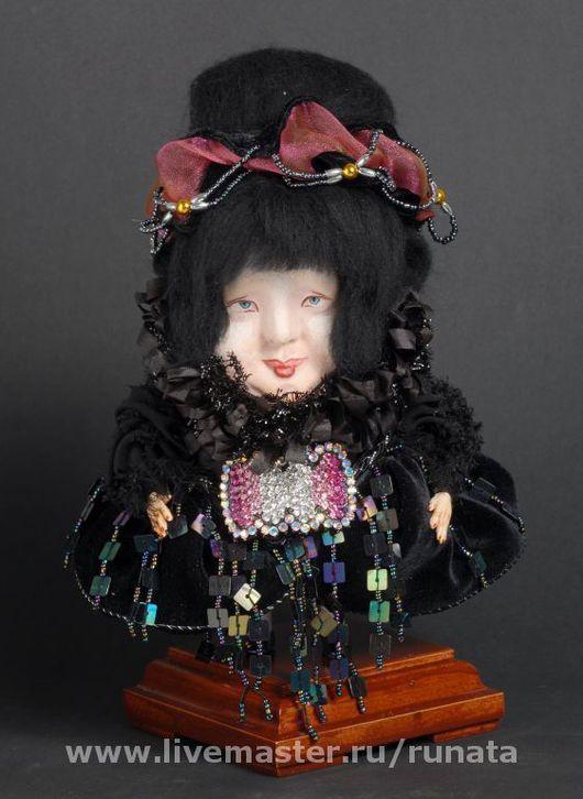 Коллекционные куклы ручной работы. Ярмарка Мастеров - ручная работа. Купить тётушка КОКО. Handmade. Шерсть, бисер, клей