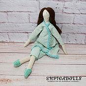 Куклы и игрушки ручной работы. Ярмарка Мастеров - ручная работа Кукла тильда Мята. Handmade.
