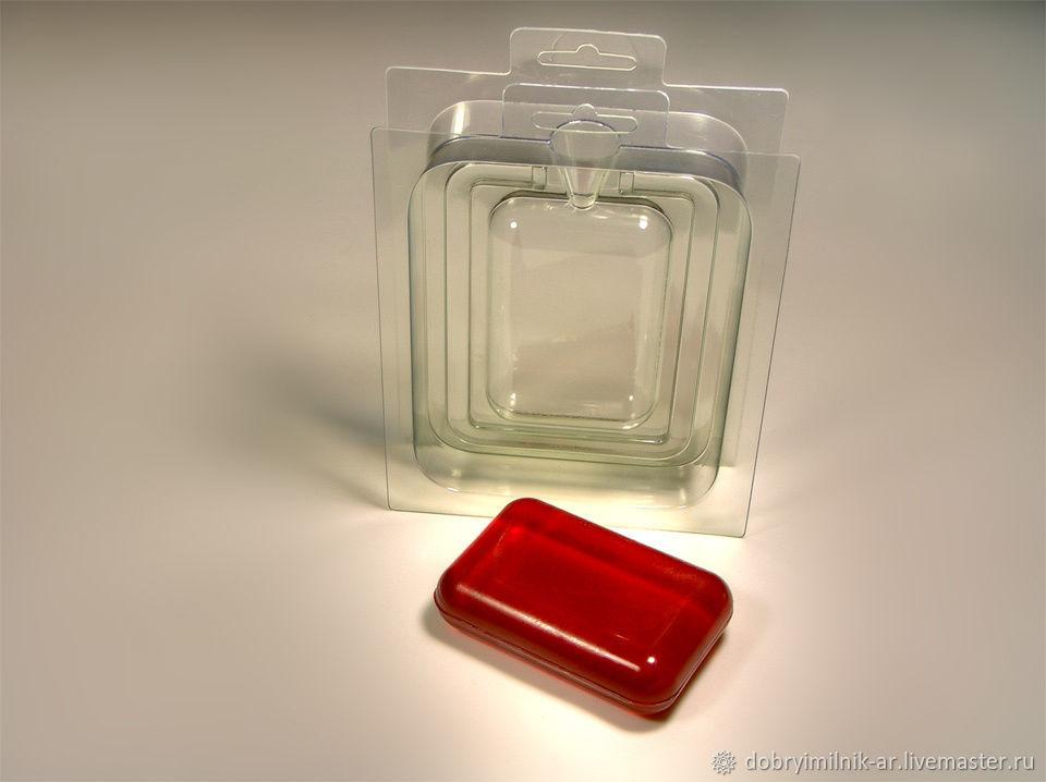 Форма для мыла 3Д Прямоугольник, Формы, Москва,  Фото №1