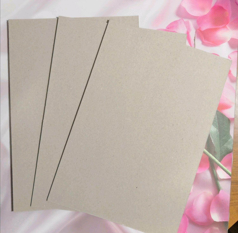 Переплетный картон А4, 2 мм, Бумага для скрапбукинга, Киров,  Фото №1