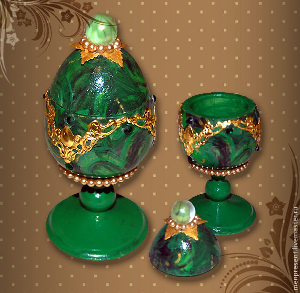 Easter Gifts handmade. Livemaster - handmade. Buy The box - egg 'Under 'Faberge'.Gift, box, faberge, easter, egg