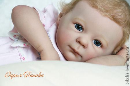 Куклы-младенцы и reborn ручной работы. Ярмарка Мастеров - ручная работа. Купить Маняша. Handmade. Бледно-розовый