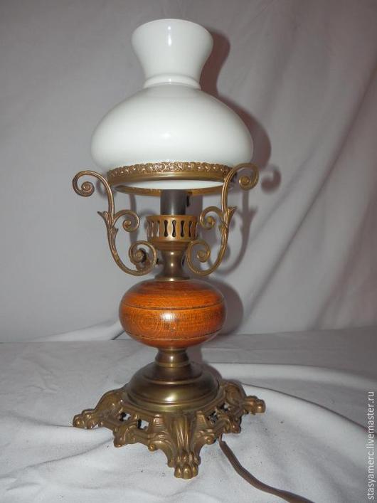 Винтажные предметы интерьера. Ярмарка Мастеров - ручная работа. Купить Винтажная  настольная лампа Глясе. Handmade. Лампа, украшение для интерьера