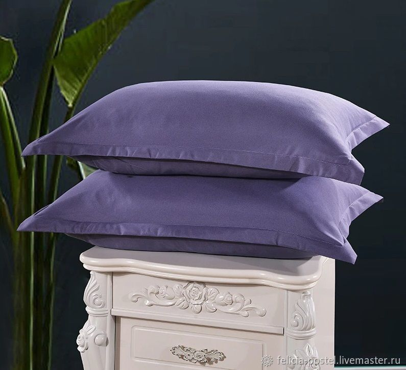 Bed linen made of LUX satin ' Lavender', Bedding sets, Cheboksary,  Фото №1
