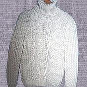 """Свитеры ручной работы. Ярмарка Мастеров - ручная работа """" Стильные косы"""" мужской свитер. Handmade."""