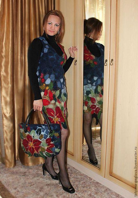 Платье ручной работы Татьяны Жегловой. Ярмарка мастеров