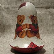 """Куклы и игрушки ручной работы. Ярмарка Мастеров - ручная работа Неваляшка """"Мы из Шотландии"""". Handmade."""