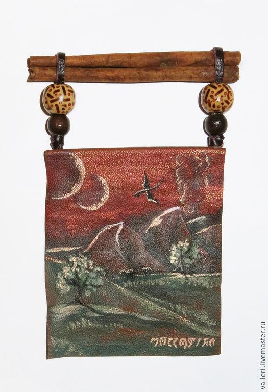 Магниты ручной работы. Ярмарка Мастеров - ручная работа. Купить Магниты с пейзажами Морровинда. Handmade. Бордовый, Морровинд, гора