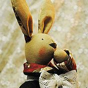Куклы и игрушки ручной работы. Ярмарка Мастеров - ручная работа Серьезный ТИЛЬДА зайчик. Handmade.