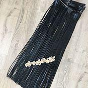 Аксессуары handmade. Livemaster - original item Belt: The fringe belt 100 cm. Handmade.