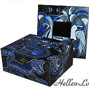 Для дома и интерьера handmade. Livemaster - original item the mirror and casket of the