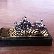 Сувениры и подарки handmade. Livemaster - original item Keychain Harley Davidson. Handmade.