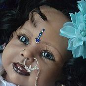 Куклы и игрушки ручной работы. Ярмарка Мастеров - ручная работа Индийская девочка Анджали. Handmade.
