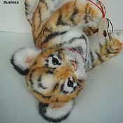 Куклы и игрушки ручной работы. Ярмарка Мастеров - ручная работа Тигрица Диша. Handmade.