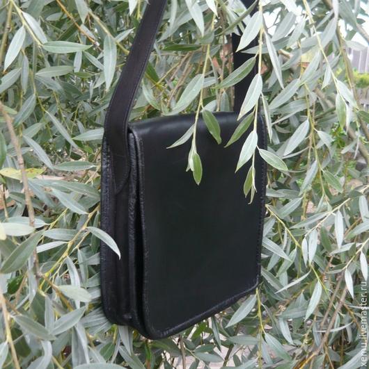 Мужские сумки ручной работы. Ярмарка Мастеров - ручная работа. Купить Сумка планшет кожаная и ключница (подклад тоже из кожи). Handmade.