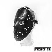 Субкультуры ручной работы. Ярмарка Мастеров - ручная работа Кожаная маска Jason Voorhees. Handmade.