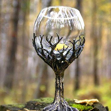 """Посуда ручной работы. Ярмарка Мастеров - ручная работа Бокал """"Дриада"""". Handmade."""