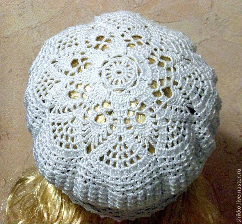 Вязание шапочки летней фото
