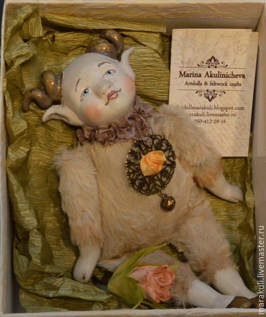 Набор для создания будуарной мини-куклы Златорог