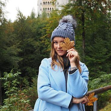 Accessories handmade. Livemaster - original item Women`s knitted hat. Handmade.